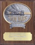 Teamwork Resin Plaque Mount Award Economy Plaques