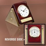 Reversible Clock Thermometer Employee Awards