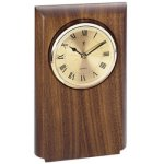 Walnut Clock Mount, Rounded Religious Awards