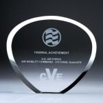 Shell Plaque Crystal Award Sales Awards